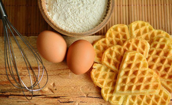 Gofry na śniadanie