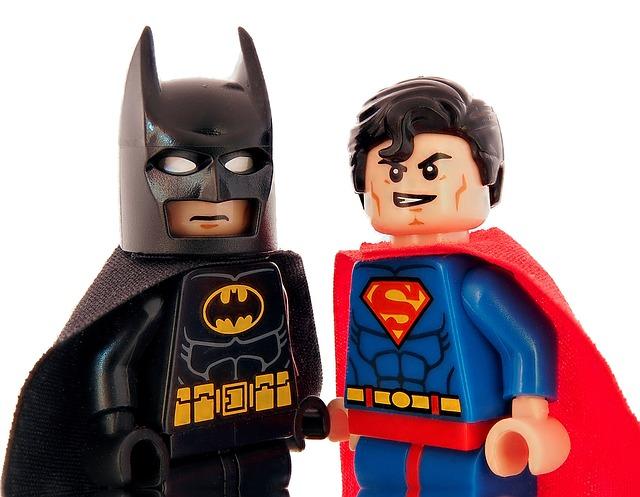 Lego Superman i Lego Batman
