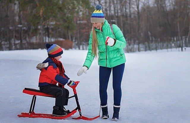 odzież na zimowy spacer z dzieckiem