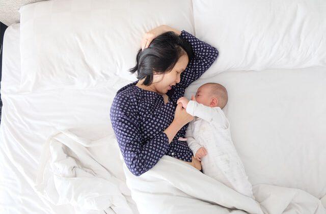 Kobieta po porodzie